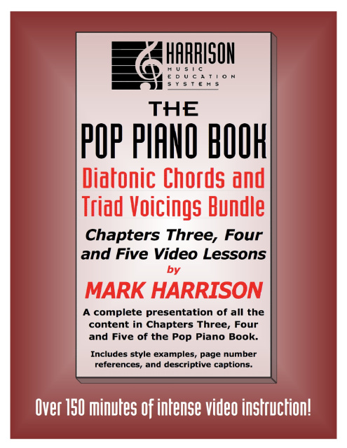 Video Lessons for The Pop Piano Book